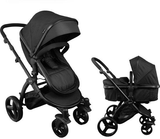 beebaby 2 in 1 kinderwagen zwart. Black Bedroom Furniture Sets. Home Design Ideas