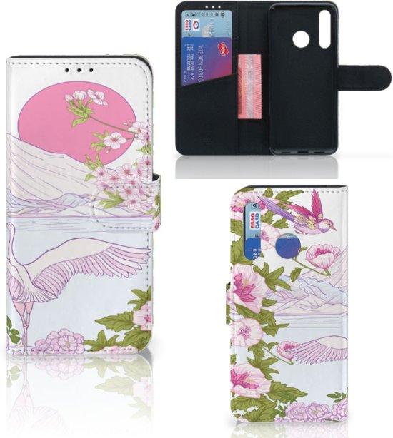 Huawei P Smart Plus (2019) Telefoonhoesje met Pasjes Bird Standing