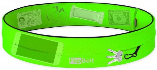 Flipbelt - Running belt- Hardloop belt- Hardloop riem - Groen - L