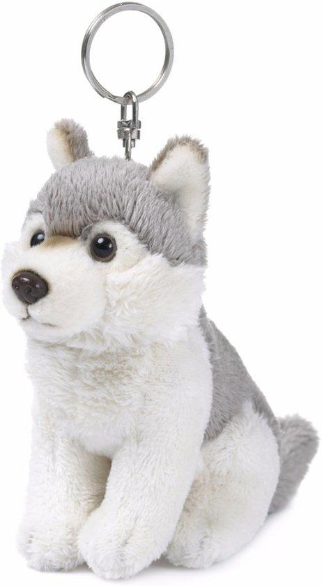 WNF pluche wolven sleutelhanger 10 cm - knuffeldier / knuffels