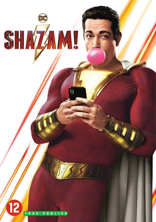 DVD cover van Shazam!