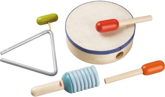 Haba Muziekinstrumenten Kleuterspeelgoed Slagwerkset