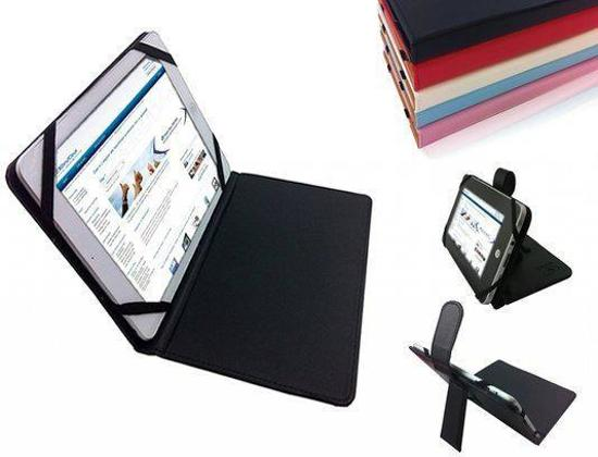 Prestigio MultiPad-7.0-Prime-Duo Cover  -  Voordelige Beschermhoes met Standaard - Kleur Grijs