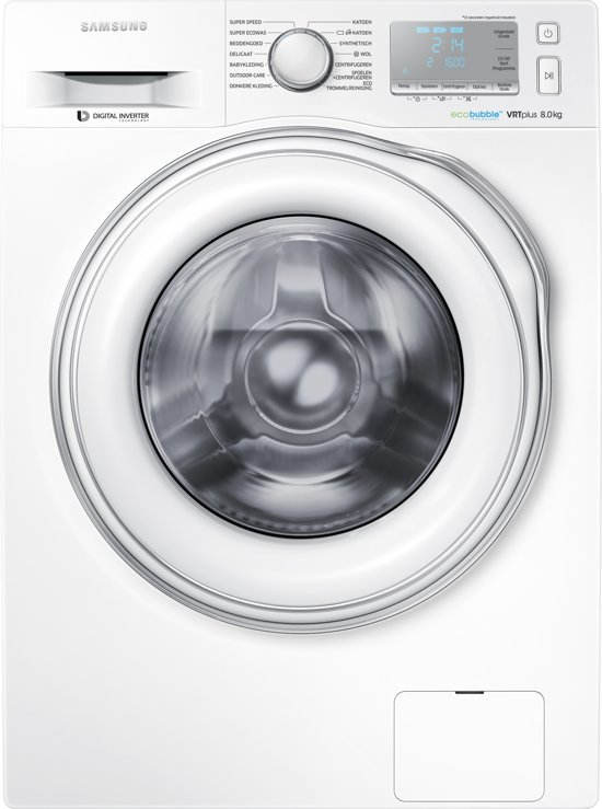 Samsung WW80J6603EW - Eco Bubble - Wasmachine