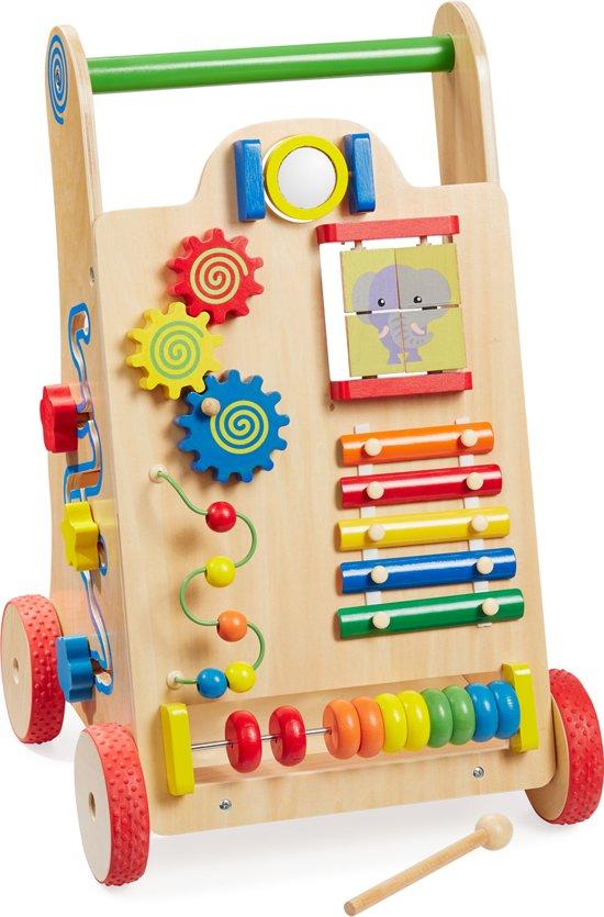 Afbeelding van howa Houten Loopwagentje 6000 speelgoed