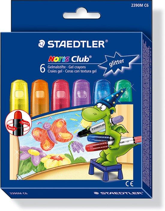 STAEDTLER Norris 6 Glitter Kleurstiften
