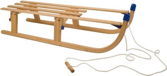 Nijdam Davos 110 cm Opklapbaar met Trekkoord - Slee