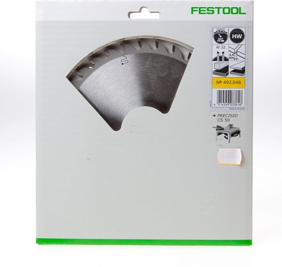 Festool Cirkelzaagblad 32 tanden W diameter 190 x 2.6 x ffmm(bloemmodel)