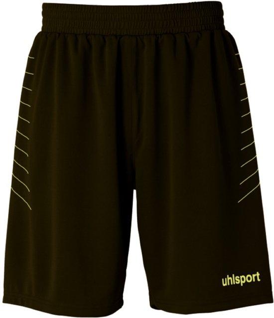Uhlsport Match - Voetbalbroek - Kinderen - Maat 128 - Zwart;Geel