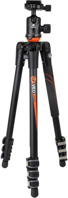 Vanguard VEO 204AB tripod Digitaal/filmcamera 3 poot/poten Zwart, Oranje