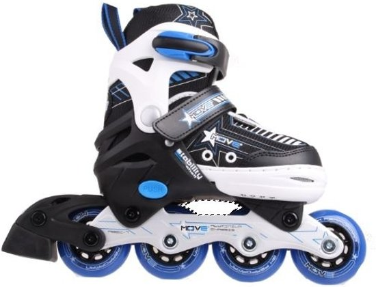 bd600c8afb3 Move Inline Skates Star Jongens Verstelbaar Zwart Maat 34/37