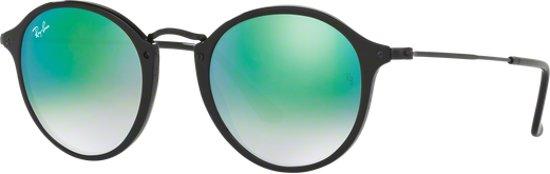587a5e9d5e360c Ray-Ban RB2447 901 4J - zonnebril - Round Fleck - Zwart Groen