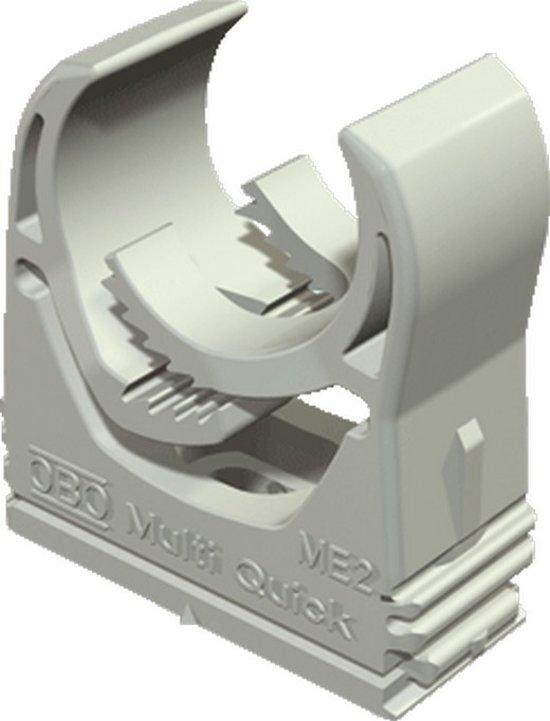 OBO kabelbuisklem Multi-Quick, kunstst, grijs, v/buisdiam 25 - 32mm