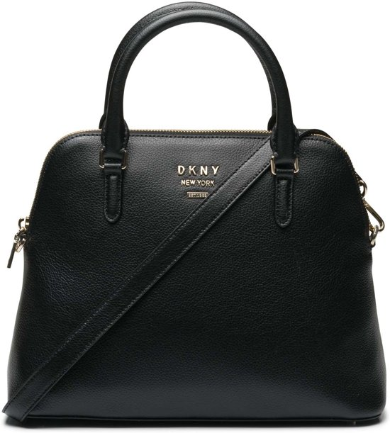 Dkny Black coloured Zwart Handtas Whitney Gold rrqg5