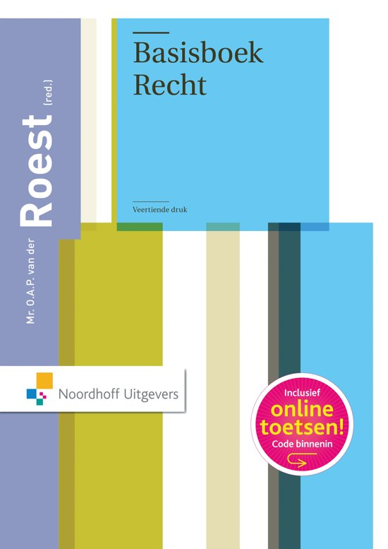 Basisboek Recht - R. Barents