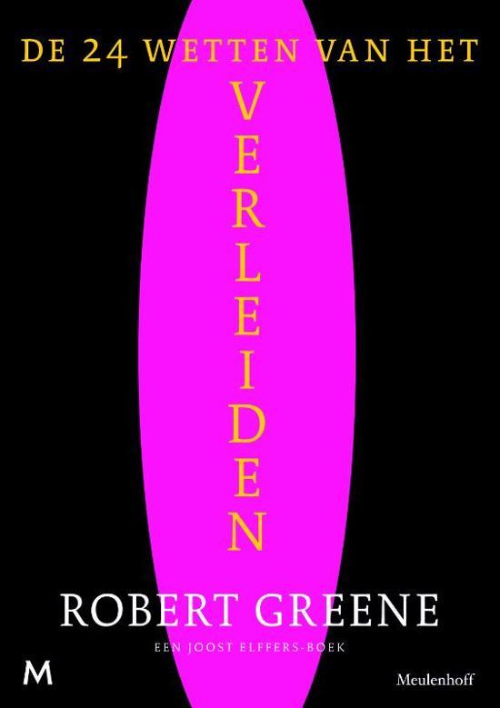 Boek cover 24 Wetten Van Het Verleiden van Robert Greene (Paperback)