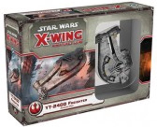 Afbeelding van het spel Star Wars X-wing YT-2400 Freighter Expansion Pack - Uitbreiding - Bordspel
