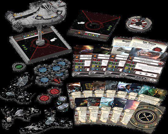 Thumbnail van een extra afbeelding van het spel Star Wars X-wing YT-2400 Freighter Expansion Pack - Uitbreiding - Bordspel