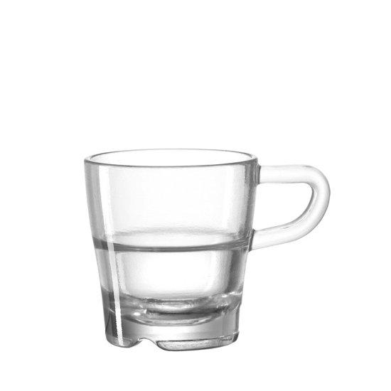 Leonardo Senso Espressoglas - 6 stuks