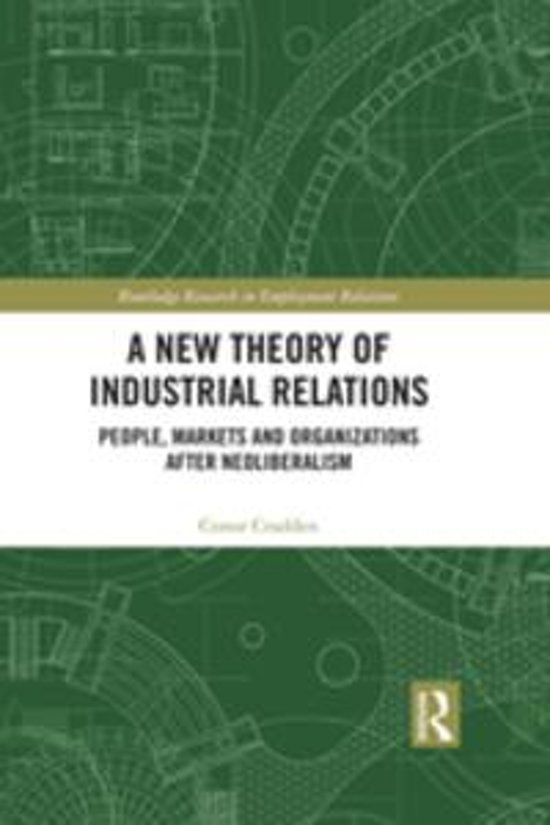 A New Theory of Industrial Relations
