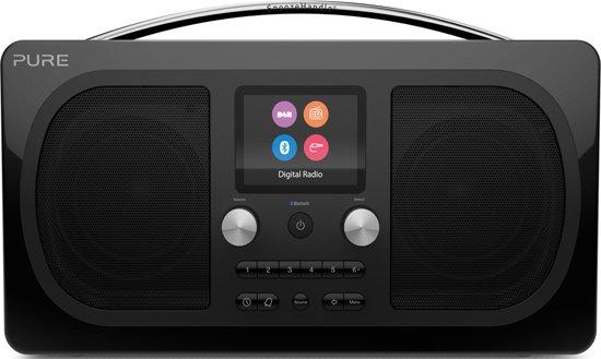 Pure Evoke H6 Prestige Edition Black DAB+ radio