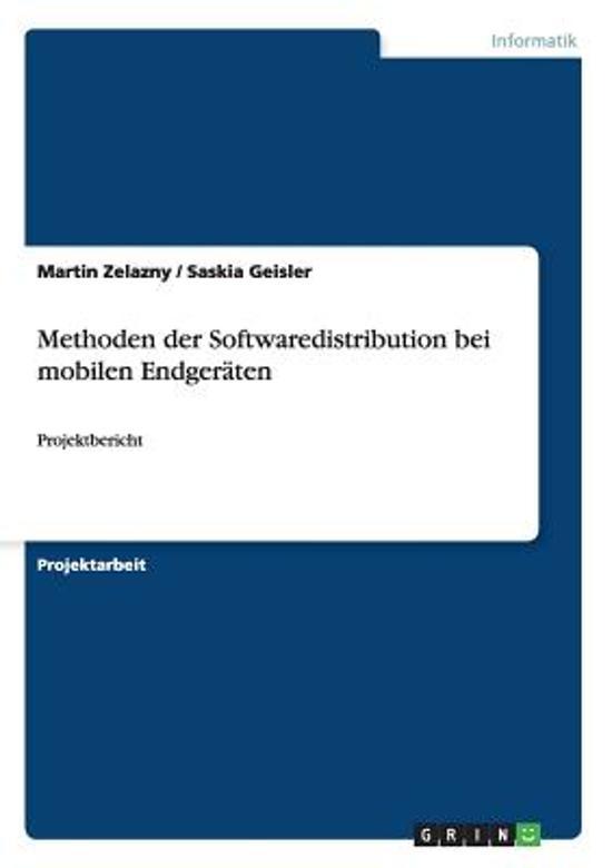 Methoden Der Softwaredistribution Bei Mobilen Endger ten