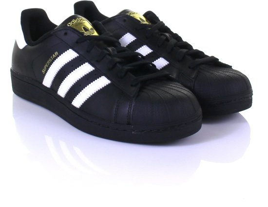 adidas superstar zwart wit heren