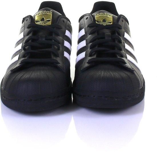 3 Adidas Foundation Heren Zwart 46 2 Maat Superstar Sneakers wit ffB6r0x