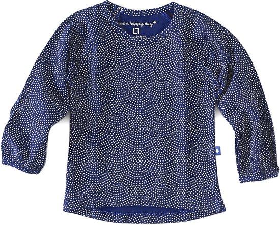 Little Label Meisjes T-shirt - blauw - Maat 86