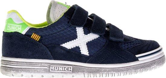 d58aad6ba49 Munich G-3 Kid VCO Sneakers Junior Sportschoenen - Maat 30 - Unisex - blauw