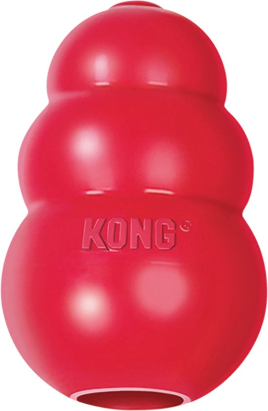 Kong Kauwbot - Hondenspeelgoed - Rood - M