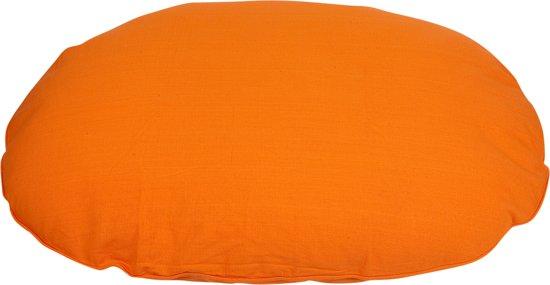 Lex & Max Tivoli - Hondenkussen - Ovaal - Oranje - 60cm