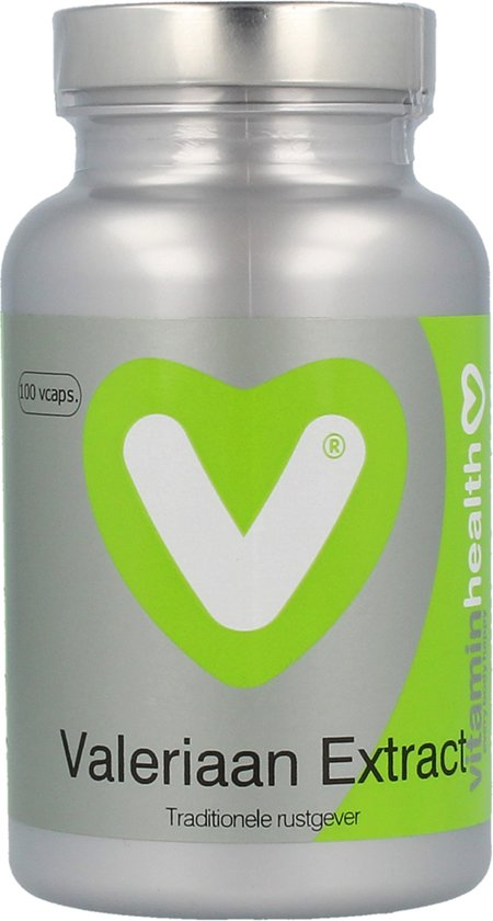 Vitaminstore  - Valeriaan Extract - 100 vegicaps