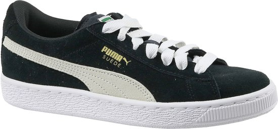 Chaussures En Daim - Pumas Taille 38 - Unisexe - Noir / Blanc g1zuB