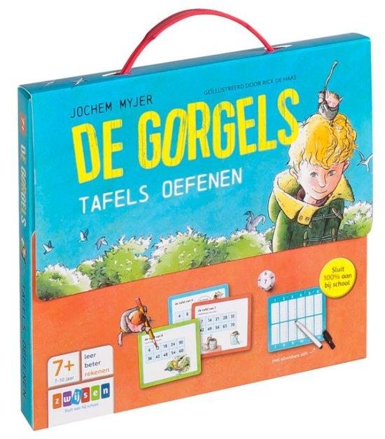 Boekomslag voor De Gorgels - De Gorgels tafels oefenen
