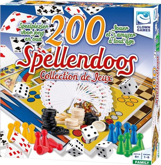 Clown Spellendoos 200Dlg Nl/Fr