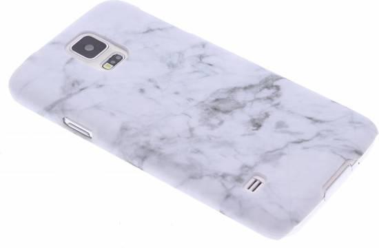 tui En Silicone En Marbre Blanc Pour Samsung Galaxy S5 (plus) / Neo 3Z1Dw3