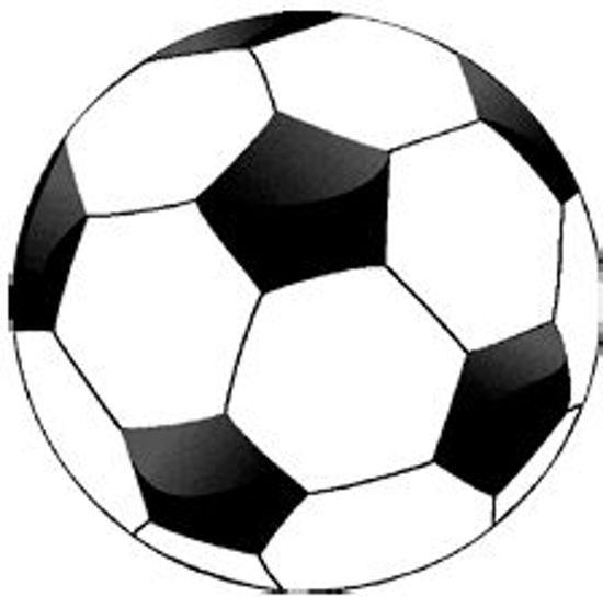 Hedendaags bol.com | Vloerkleed Voetbal: 80x80 cm IJ-35