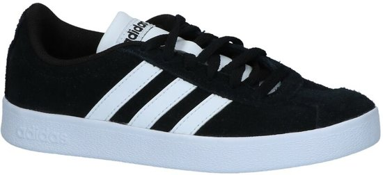 8ef2fa5f1c1 adidas VL Court 2.0 K Sneakers Kinderen - Core Black/Ftwr White/Core Black