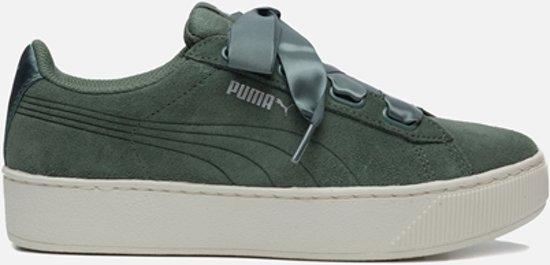 9a516fee05b bol.com | Puma Vikky sneakers groen