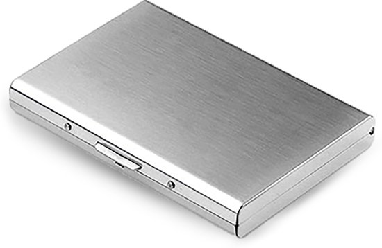 Luxe Cardprotector - Pasjeshouder - Portemonnee - Zilver