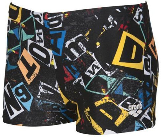 Boys Rowdy Jr Short Zwart - Multi 140