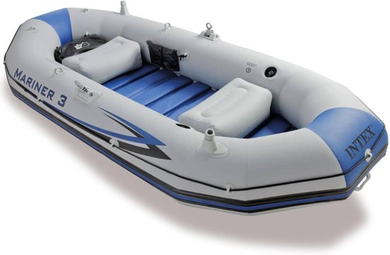 Intex Opblaasboot Mariner 3 297x127x46 cm 68373NP