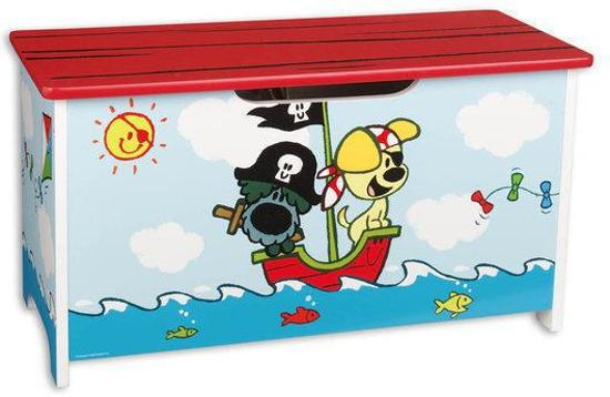 Wonderbaar bol.com | Woezel & Pip - Opbergkist Piraat GY-81