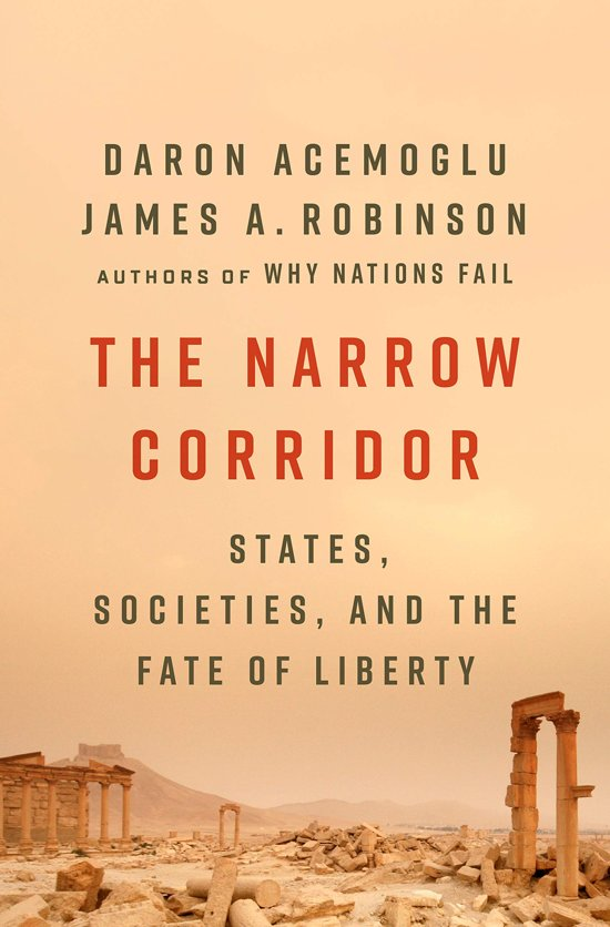 Boek cover The Narrow Corridor van Daron Acemoglu (Paperback)