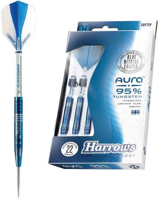 Harrows - Aura A2 - 24 gram - 95% Tungsten - dartpijlen