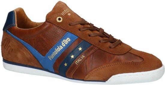 Pantofola d'Oro - Vasto Low - Casual schoen veter - Heren - Maat 41 - Cognac - JCU -Tortoise Shell