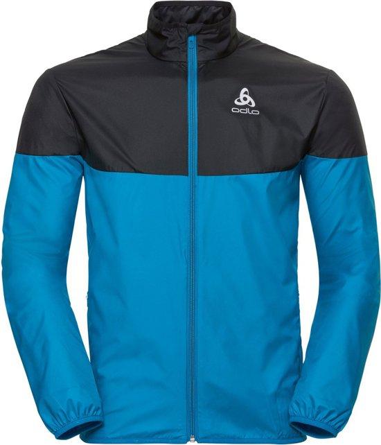 Odlo Jacket Core Light Hardloopjas Heren - Blue Jewel-Black