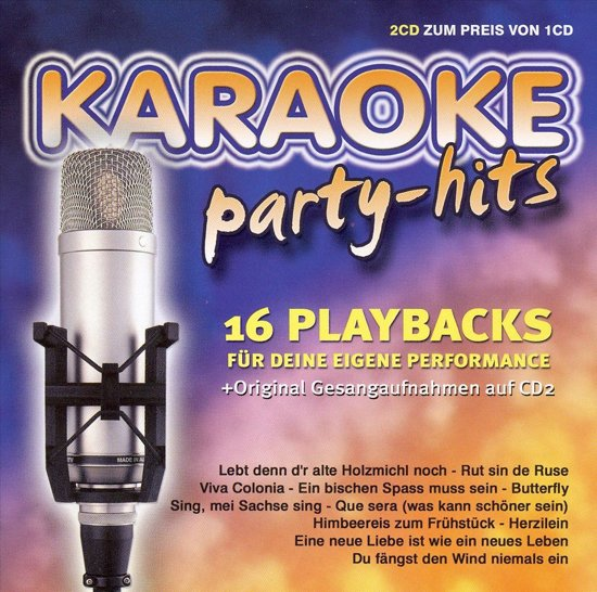bol.com   Karaoke Party-Hits, Karaoke / Startrax   CD (album)   Muziek  Karaoke