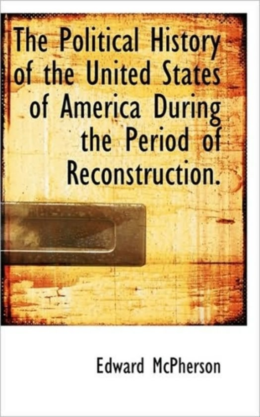 a history of the reconstruction period in america The reconstruction era (1861 to 1898), the historic period in which the united states grappled with the question of how to integrate millions of newly freed african americans into social, political, and labor systems, was a time of significant transformation within the united states.